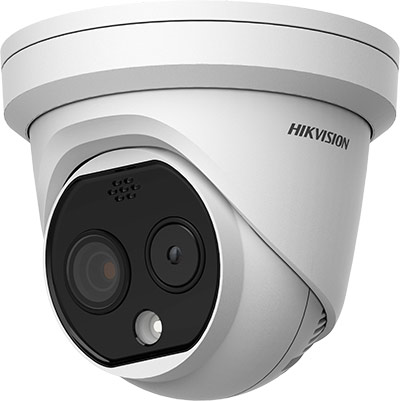 Hikvision Thermal Turret Dome Camera